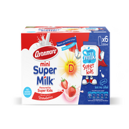 Avonmore Super Milk Mini Strawberry 6 x 200ml