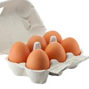 Belview 6 x Lrg Free Range Eggs