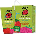 innocent Strawberries Blackberries & Raspberries Smoothie For Kids