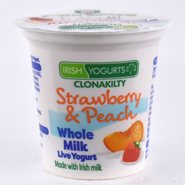 Irish Yoghurts Strawberry & Peach