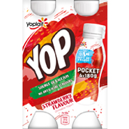 Yoplait Yop 4 Pack Strawberry