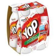 Yoplait Yop 6 Pack Strawberry