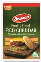 Avonmore Avonmore Red Cheddar Sliced